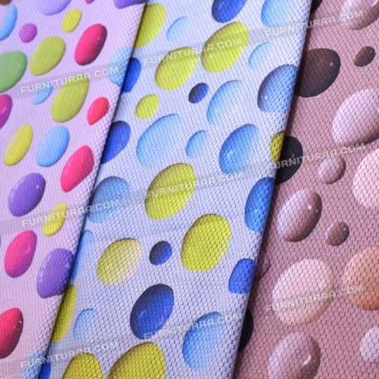 Мебельная ткань BUBBLE