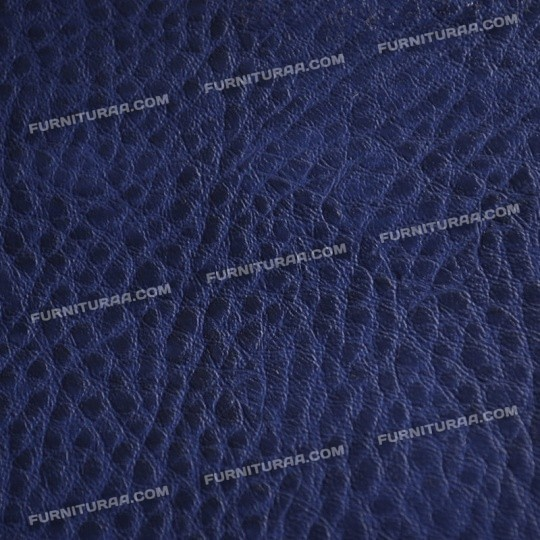 Мебельный кожзам BREAST - цвет Blue