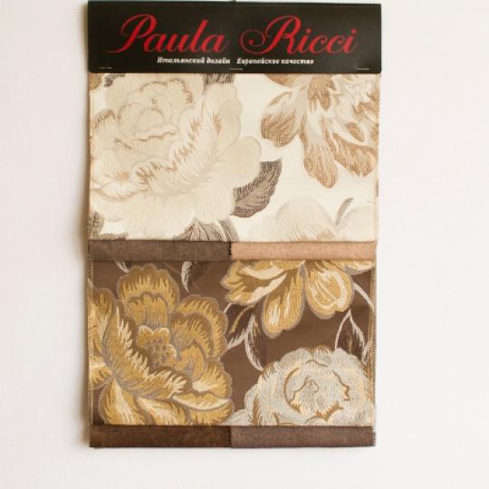 Образец ткани Флора