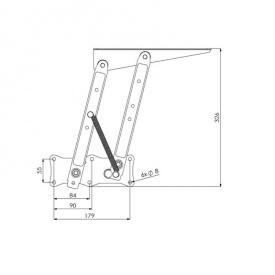 Малый механизм трансформации стола