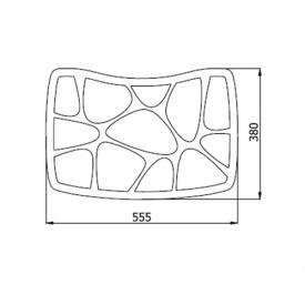 Мебельный декор AK 120-07