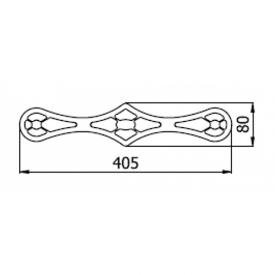 Мебельный декор AK 280-01