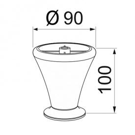 Мебельная ножка CA 271-04