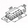 Мебельная ножка KA 140-03
