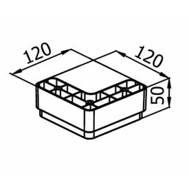 Мебельная ножка KA 183-03