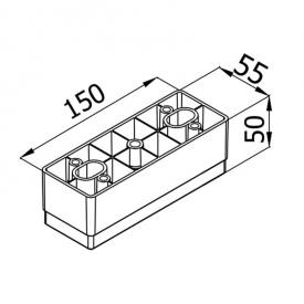 Мебельная ножка KA 187-03