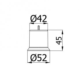 Опора для накладки KP 110-01