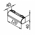 Мебельная ножка VA 220-221-222-223-01