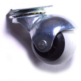 Колесо мебельное резиновое D40 - D50