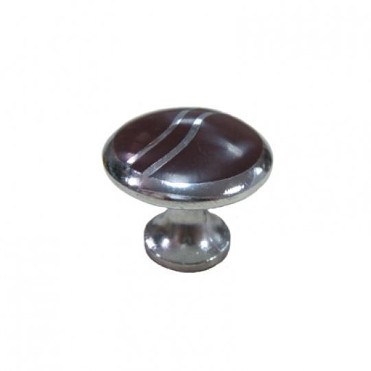 Ручка мебельная кнопка 326